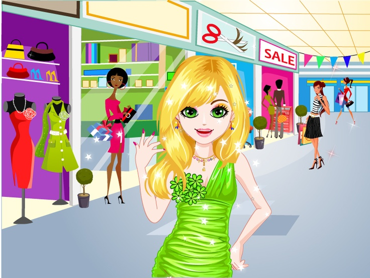Shop 'til you Drop http://www.cutezee.com/makeover-games/shop-til-you ...