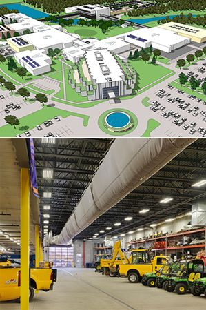 Joliet Junior College Master Plan, Facility Services Building featured in College Planning & Management