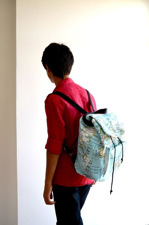 041c6fc64895 World Map Backpack