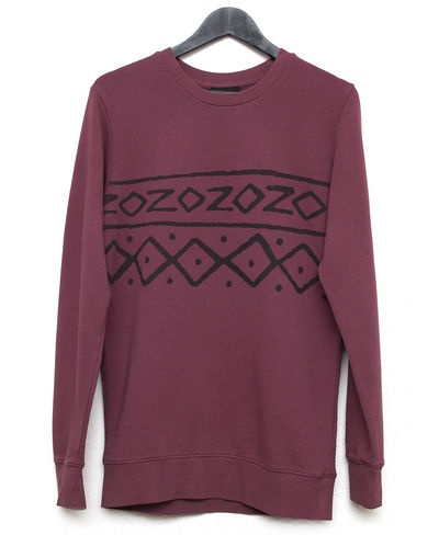 Kiss Chacey Africa Crew (Maroon) $109.95