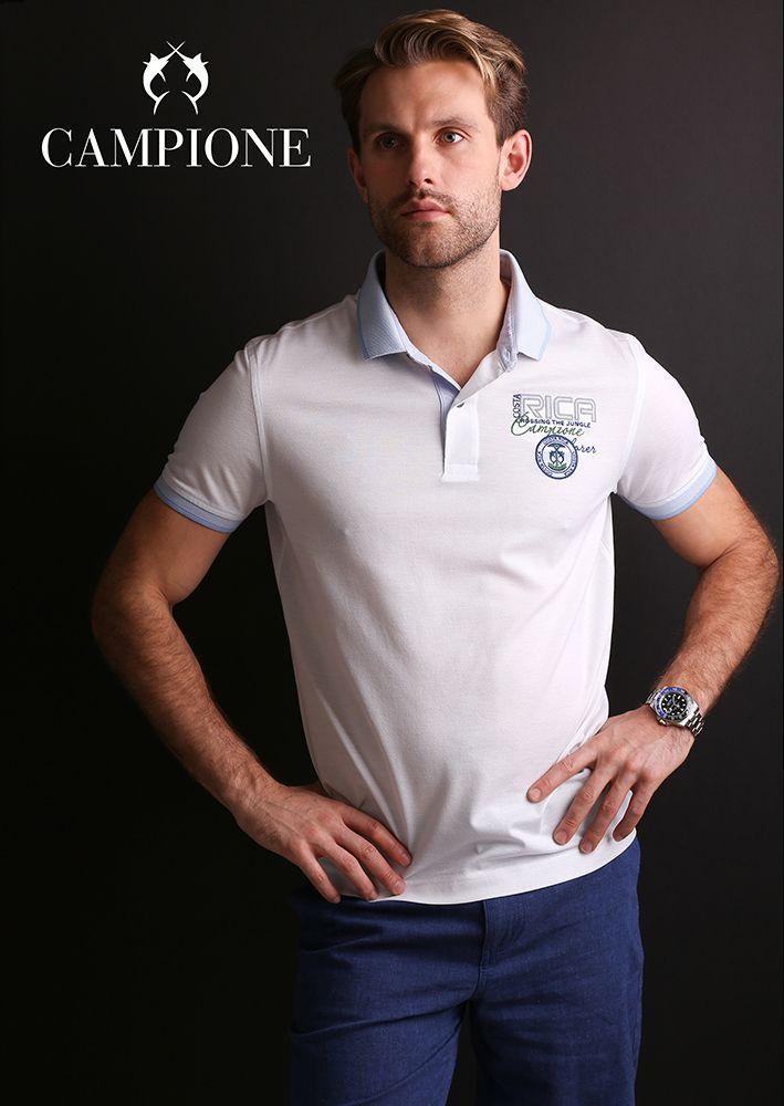 CLAUDIO CAMPIONE Herrenmode ist souveräne und zugleich lässige Bekleidung und Fashion für Männer, die aktiv sind und wissen was sie wollen.