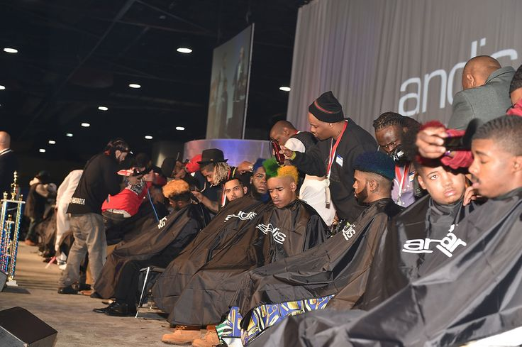 A general view of the Bronner Bros. 2015 Mid-Winter International Beauty Show at Georgia World Congress Center on February 22, 2015 in Atlanta, Georgia.