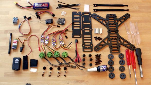 Picture of 250 quadcopter, full build