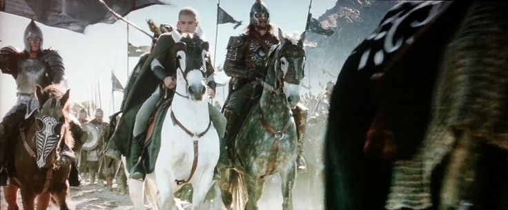 Lord of the Rings, some of the most gorgeous horses in these movies