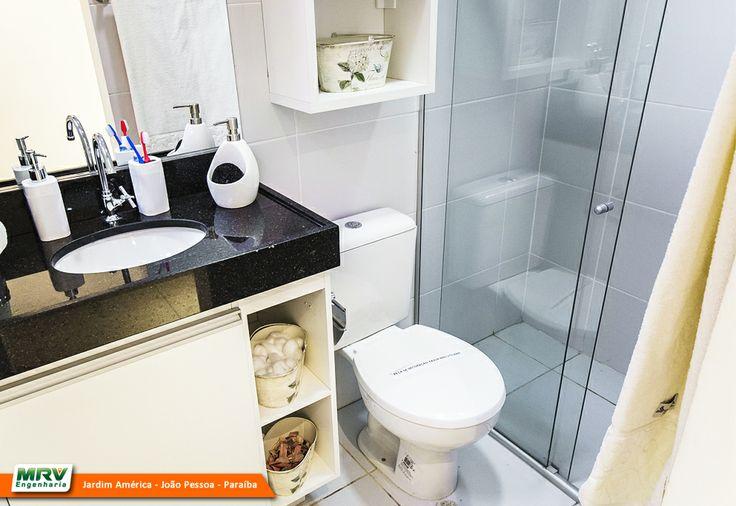 Pessoa  PB  MRV Engenharia  Banheiro  Banheiros  Pinterest