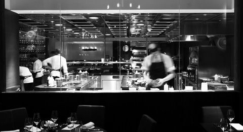 Dinner by Heston Blumenthal - Just nominated as one of the best restaurants in the world...