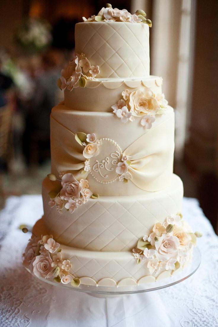 1000 Ideas About Champagne Wedding Cakes On Pinterest Elegant Wedding Cake