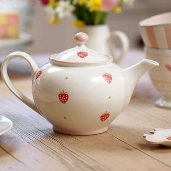 who doesn't love a good cup of tea in a gorgeous strawberry teapot. The ideal gift in one of our susie watson designs giftboxes