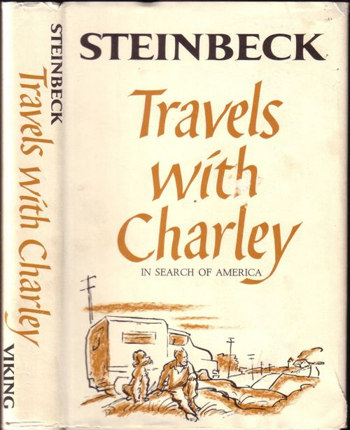 best john steinbeck images writers author and  john steinbeck travels charley in search of america the ultimate u s road