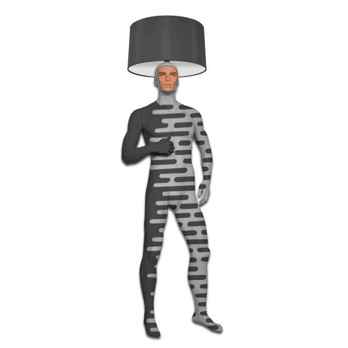Hand painted Mannequin Floor Lamp. Inspired by futuristic uniform concepts, called Cyborg. See more new items from Magestic: www.magesticmannequins.com magestic.mannequins#mannequins #floorlamp #interiorlighting #mannequinlamp #mannequinsinart #lifesizemannequin #lampshade #windowdisplay #interiorstyling #designer #designlife #homedecor #lightingdesign #interiordesigner #artwork #decoration #statementpiece #cyborg #futureuniform