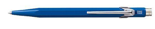 Caran D'ache Ballpoint Pen Metal Blue - Ballpoint Stick Pens