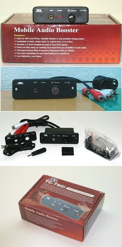 Other Car Electronics Accs: Tcc Tc-780I Mobile Stereo Line Level Amp/Booster: Includes Optional Ac Adaptor BUY IT NOW ONLY: $42.5