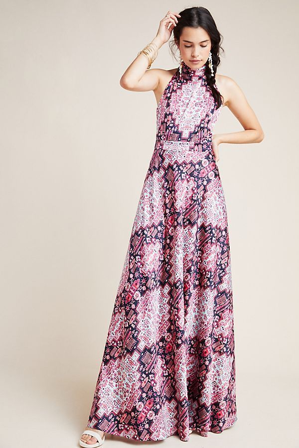 20 Fall Wedding Guest Bridal Party Outfits Halter Maxi Dresses Beautiful Dress Designs Dresses