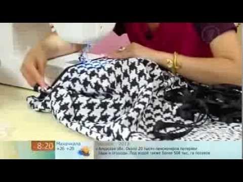 платье трапеция (rapeze dress) - YouTube