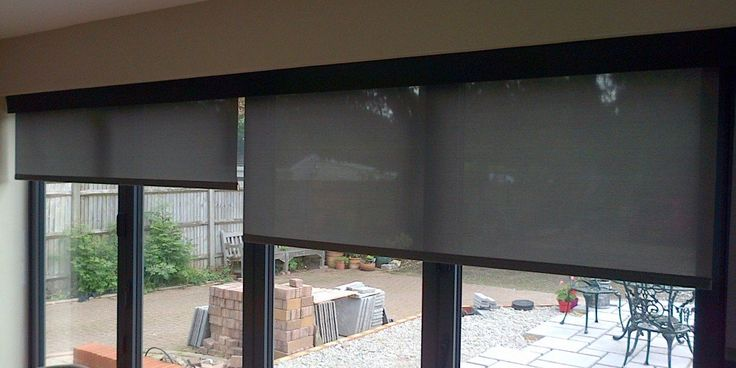 See Through Screen Fabric Roller Blinds Blinds For