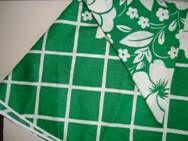 Table cloth from the 70s. Cotton. Rund dug - 1970'erne bomuld. D: 136 cm. #trendyenser #retro #danish #textile #1970 #dansk #tekstil #dug #forsale #sælges på www.trendyenser.com