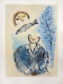 Senza titolo n. 2, De mauvais sujets, 1958, Marc Chagall  - Irma Bianchi Comunicazione
