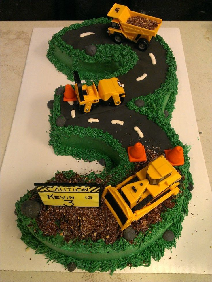 Cake Decoration For Boy Birthday : 25+ best ideas about Construction Birthday Cakes on ...