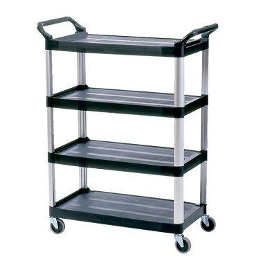 4096 4 Shelf Cart, Open Sided (1)