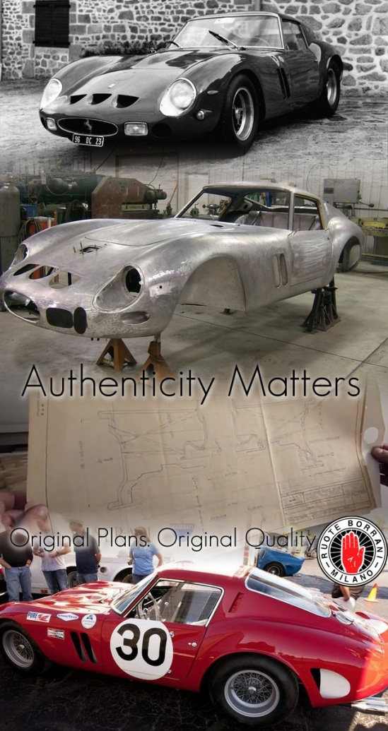 When working with priceless cars, authenticity matters