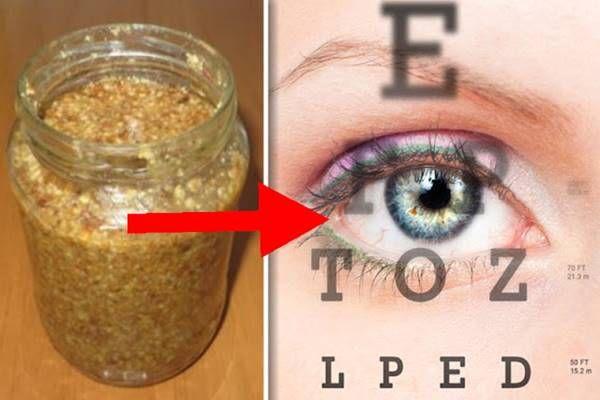 Egy természetes orvosság, ami bizonyítottan javítja a látásod!