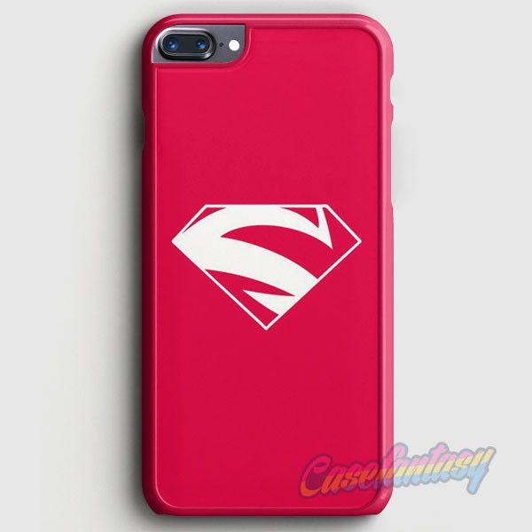 Superman Movies Red Simple iPhone 7 Plus Case | casefantasy