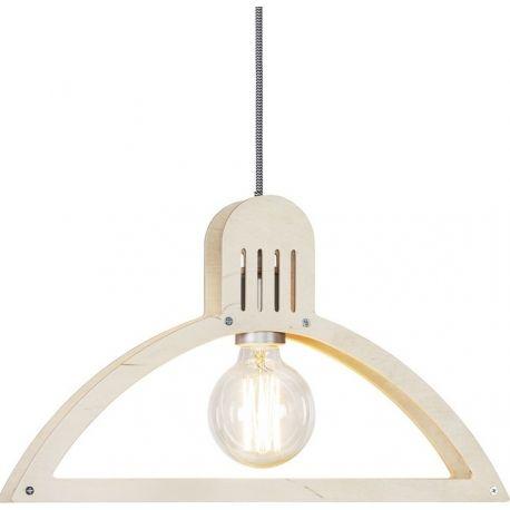 Niebanalna lekka lampa wisząca Hanger B wykonana z drewnianej sklejki. https://blowupdesign.pl/pl/31-wiszace-stojace-lampy-drewniane-design-skandynawski #lampywiszące #lampydrewniane #lampyzdrewna #oświetleniesypialni #lampydokuchni #woodenlamps #lightingstore #woodenlighting