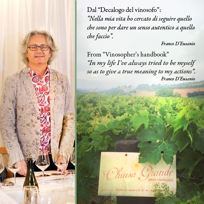 #Abruzzo #vino #chiusagrande #personality #vinosophy #action #vinosophia