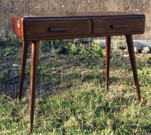 Vintage Desk | refunked.com | Industrial Furniture | Upcycled | Repurposed | Warehouse Home Design Magazine