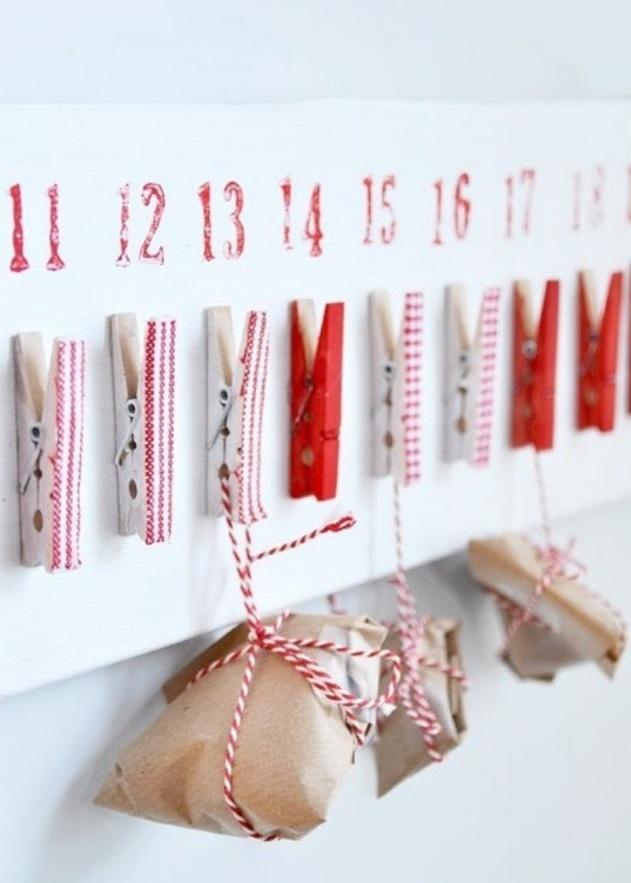 Christmas advent calender- ja der gefällt mir :-)