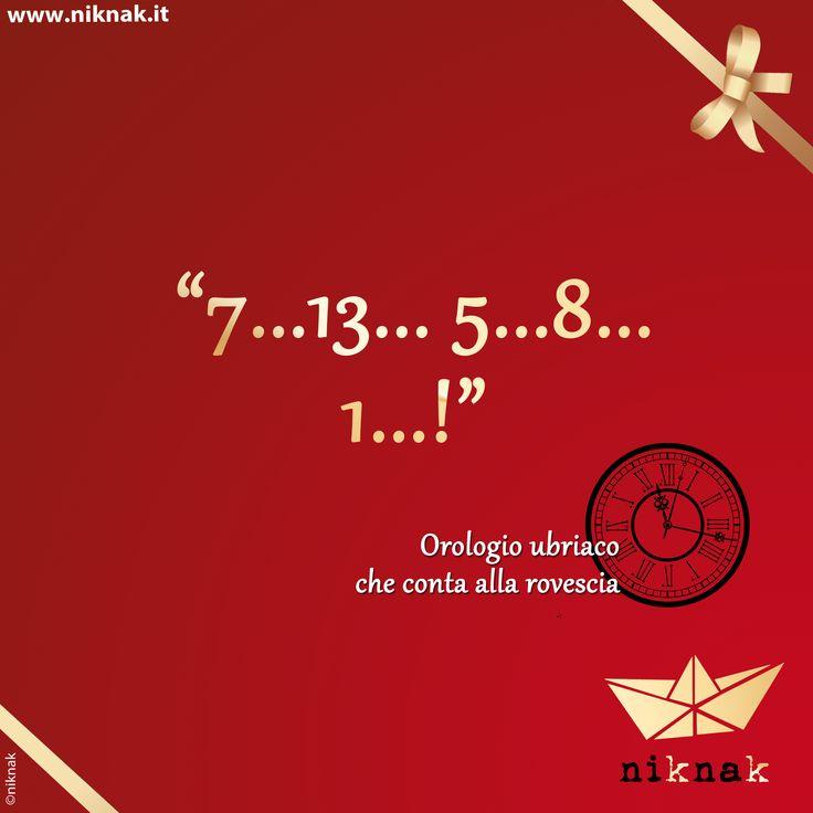 Citazioni di Capodanno: orologio. Christmas quotes | Christmas graphic | Funny quotes | Happy new year | 2014