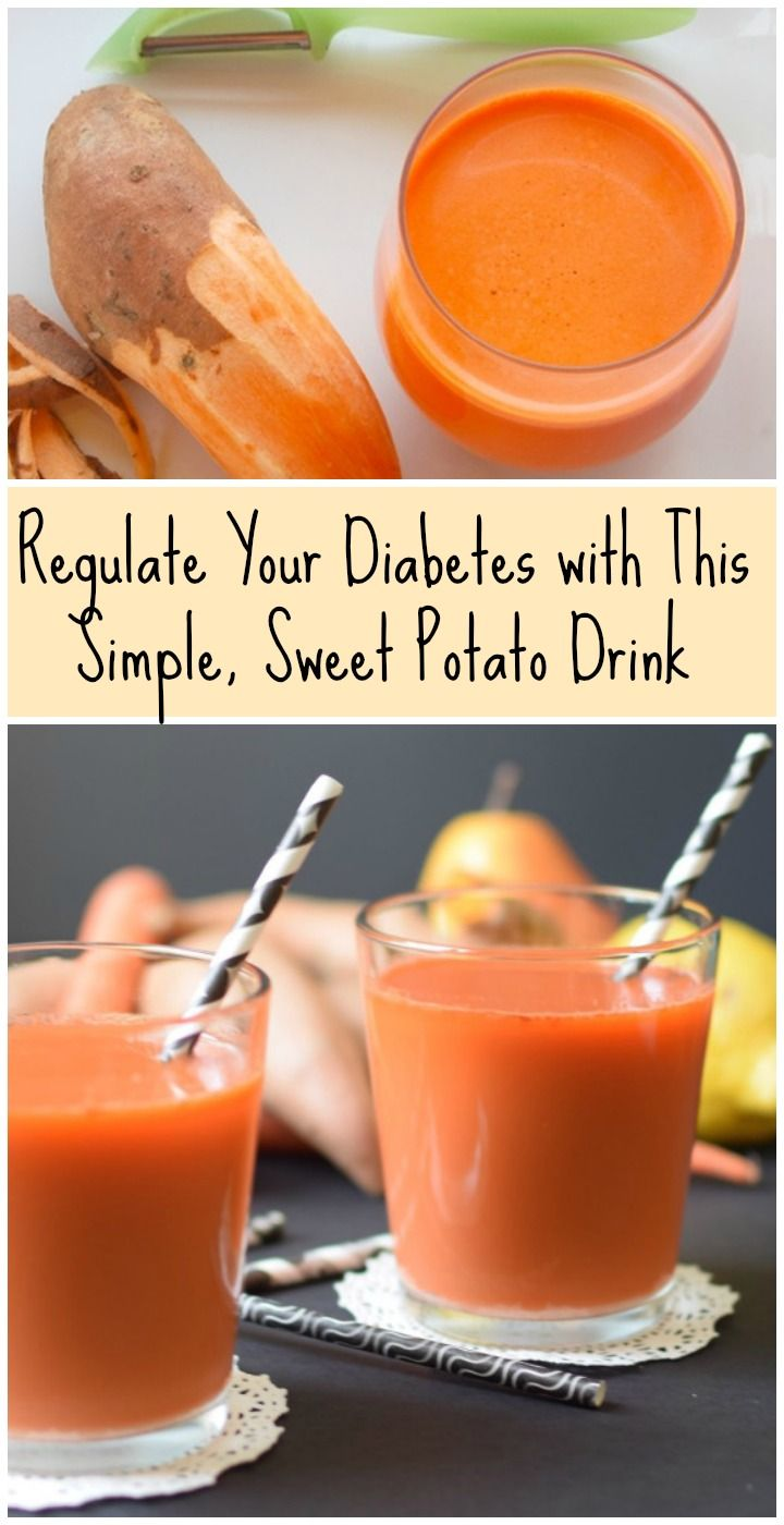 Regulate Your Diabetes with This Simple, Sweet Potato Drink