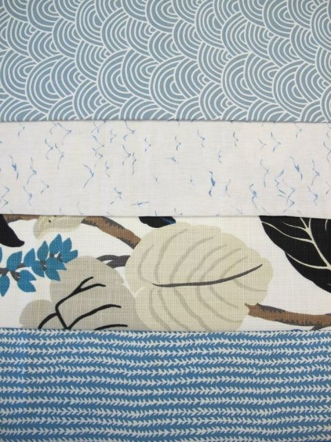 Summer Holiday fabrics from St Leger and Viney