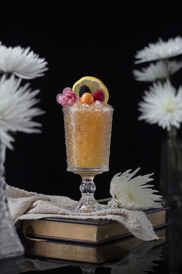 Earl Grey Cobbler Mocktail Resep