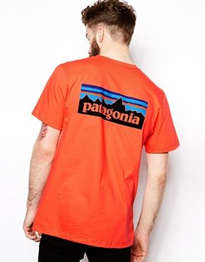 Patagonia T-Shirt with Back Logo