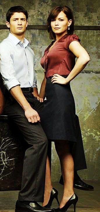 Bethany Galeotti and James Lafferty (Nathan & Haley Scott) Love them!!