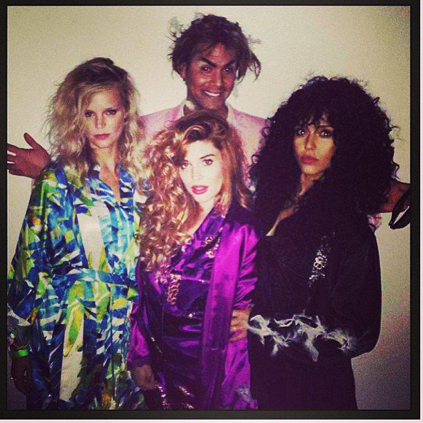 Pin for Later: The All-Time Best Celebrities in Pop Culture Costumes The Witches of Eastwick In 2013, Jessica Alba channelled Cher's character from The Witches of Eastwick. Source: Instagram user jessicaalba