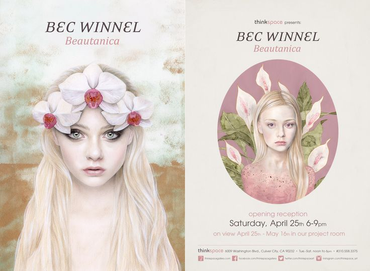 April 25, 2015	- May 16, 2015 @ Thinkspace Gallery: BEC WINNEL - Beautanica