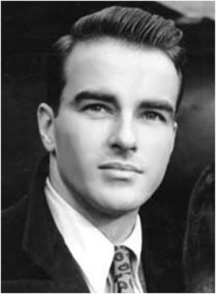 Montgomery Clift (1920-1966).                                                                                                                                                                                 More