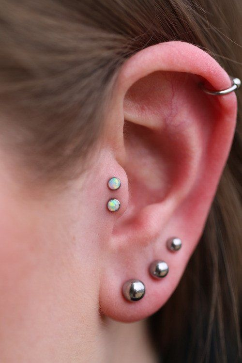how to make a fake tragus piercing
