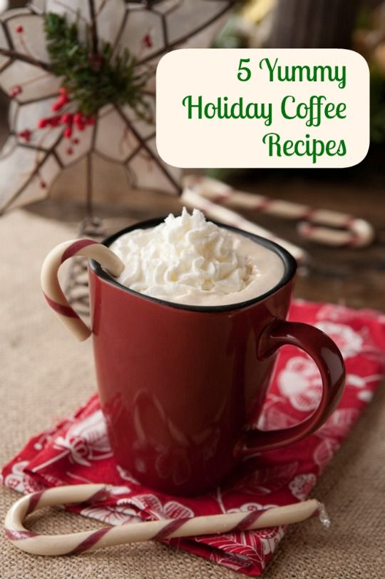 5 Festive Holiday Coffee Recipes (including a vegan Coconut Cardamom Spiced Latte featuring the pleasant fragrance of cardamom and soothing coconut milk) to Help You Wake Up!