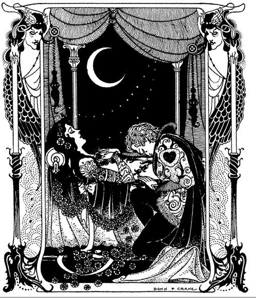Aubrey Beardsley - Also, Dore, Gorey - one could almost make a color wheel from their endless shades of black and white. Ink storytellers all.