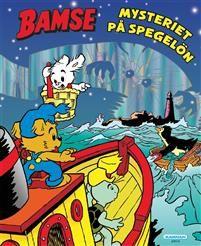 Av Jan Magnusson & Dan Andreasson Inbunden, 39 sidor  Bamse, LIlle SKutt och Sklaman ger sig ut med båten Victoria. Det blåser upp till storm och segelturen blir en vådlig berg- och dalbanefärd på de höga vågorna. Tack vare Skalmans fiffiga uppfinningar lyckas de rädda pingviner i sjönöd. Men vad är det för mystiskt sken från den slocknade fyren på ön? De tre vännerna seglar dit för att ta reda på det. Det blir ett spöklikt kusligt besök på fyrön.
