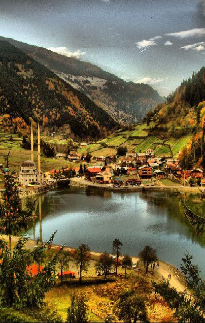 Uzungöl - Çaykara, Trabzon - TURKEY.