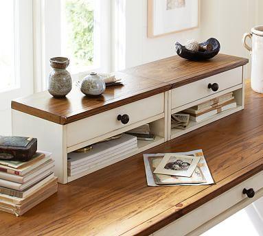 Whitney Desk Hutch #potterybarn