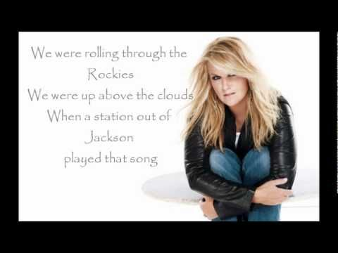 The song remembers when.....Trisha Yearwood