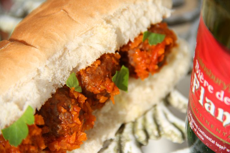 Sloppy joe meatballs. A sloppy joe immediately conjures up images of a cheap lunch bar in 1930s America. And that, in fact, is exactly where it originated, as an early form of fast food for workers grabbing a quick lunch break, cheaply. But there's nothing cheap about the taste of this little number.