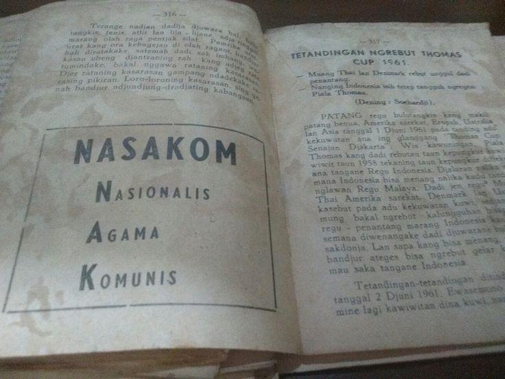 Nasakom#jangan lupa sejarah
