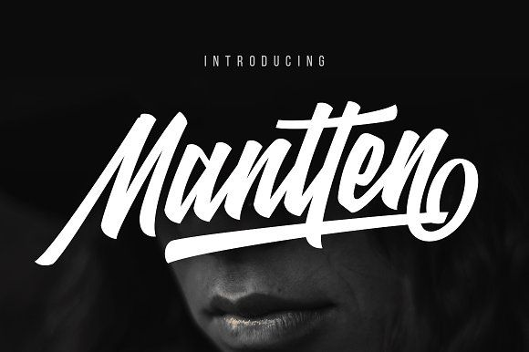 Mantten (Intro Sale 20%Off) by Surotype on @creativemarket