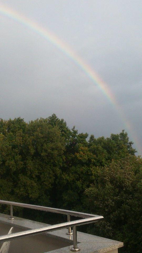 Rainbow in Croatia
